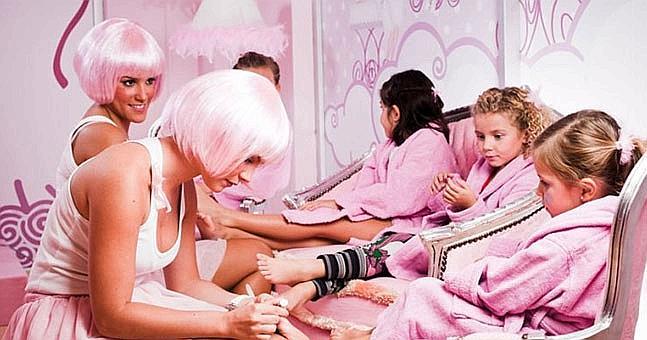 Fiesta de cumplea os para ni as spa en casa ole beb - Nombres de centros de belleza ...